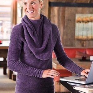 Athleta Cozy Cocoon Cowl Neck Sweater